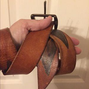 GAP | Brown Leather Belt | Size Medium